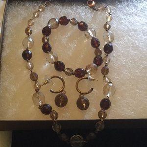 Glass bead set